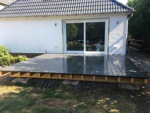 terrassen - holzbohlen